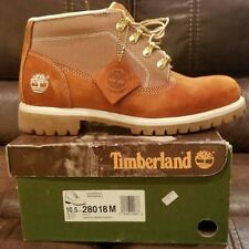 Timberland Boot Campside Paprika w/white Chukka Sz 10.5 VINTAGE RARE!!!