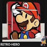 Super Mario Lichtschalter Aufkleber Kinderzimmer Wandaufkleber Deko Schalter #1