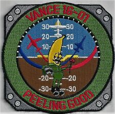 USAF VANCE CLASS 16-01 PATCH -  'PEELING GOOD'                             COLOR