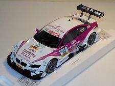 1/18 Minichamps BMW M3 DTM Team RBM A. Priaulx DTM 2012