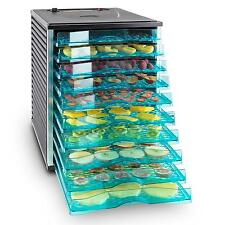 Fruit & Jerky Maker Machine 10 Tiered By Klarstein Food Dehydrator 800W