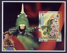 2005 baden powell S/S #3 flowers orchids fish scouts