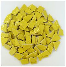 Yellow Mosaic Tiles - 1 Square Foot - High Fired