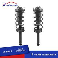 For BMW 5 Series E60 Sedan Pair Set of 2 Rear Shocks w// Mounts Bilstein B4