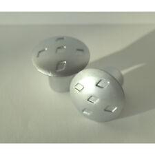 10 STK. Schrank Türgriffe Knopf Griff Pull chrom matt Möbelknopf  Küchenknopf