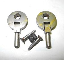 New ListingVintage Singer Sewing Machine Set Cabinet Head Pin Hinges, 1 Hole, Pewter Finish