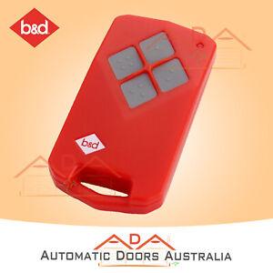 B&D TB5v2 Tri Tran Remote 62557 B&D TB5, BD4, TB2, Garage Door hand Transmitter