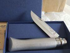 Opinel Aluminium collection série limitée alu métal inox pechiney massif argent