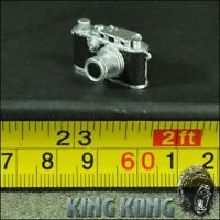 "Customize 1/6 Scale Retro Nostalgic Camera Model for 12"" Action figure Toys"
