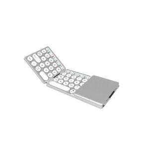 Ultra Slim Bluetooth Wireless Keyboard for Apple iPad iPhone Android Windows