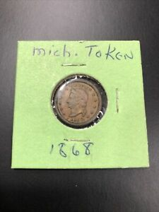 1868 Michigan Flour & Grains Token