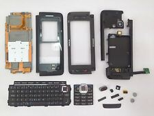 Nokia E90 Mocha Brown Keypad Back Front Middle Cover Keyboard Flex Original NEW