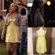 BCBGMaxazria Yellow Sun Dress SA ASO Caroline Forbes 8/M  The Vampire Diaries