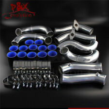 Racing Turbo Intercooler Piping Kit Fit Nissan GT-R R35 VR38DET VR38 09-15 Black