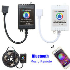 5x Bluetooth Wireless Music Remote Smartphone Controller For 5050 RGB LED Strip