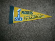 Green Bay Packers Super Bowl XLV Champions mini pennant