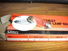 NOS Stanley Auto Lamp Light Bulb 6V/6W A3262 Made in Japan 11 x 39