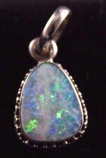 Australian Opal Pendant Sterling Silver .925  Elegant