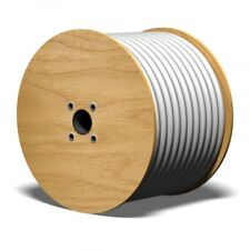 Koaxialkabel 90 dB Quattro 4in1 100m 6,9mm 2-fach geschirmt Antennen Kabel weiß