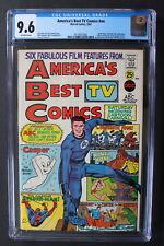 AMERICA'S BEST TV #1 Marvel 1967 Spider-Man Fantastic Four George Jungle CGC 9.6