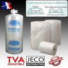 Rouleau film papier Bulle AIRCAP®/Jovicap® emballage largeur 50cm ou 100cm Ø10mm