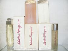 POUR FEMME de FERRAGAMO 4 stück: E.Parfum 100spr+Shower200+Body200+Deodorante100