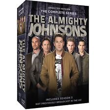THE ALMIGHTY JOHNSONS : COMPLETE SERIES 1 2 & 3  -   DVD - Region 1   Sealed