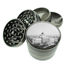 Washington D.C. D6 Titanium Grinder 4 Piece Magnetic Hand Mueller Monuments