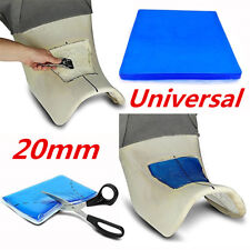 Soft Silicon Gel Motorcycle Seat Seating Cushion Moulding Butt Pad Universal 2cm