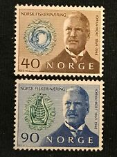 Norway SC #535-36 Mint NH Set 1969