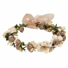 WINOMO Women Girls Flower Headbands Crown Wedding Bridal Hair Wreath Floral