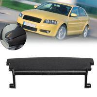 Armrest Center Console Cover Lid Latch Clip Plastic Black For Audi A3 2003-2012