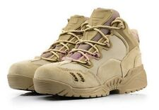 Mens Military Suede Mesh Breathable Combat Desert Tactical Outdoor Hiking Boots