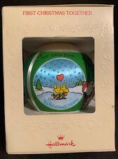 "Hallmark Glass Ornaments ""Peanuts"" 1988 & ""A Charlie Brown Christmas"" 1989 1980"