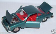 RARE OLD POLITOYS M FIAT SIATA 1500 COUPE BLEU METAL 1965 REF 502 1/43