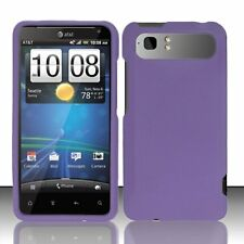 Hard Rubberized Case for HTC Vivid - Purple