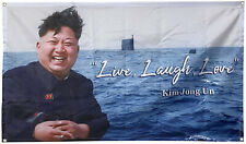 Live, Laugh, Love Banner Flag 3x5Feet for College Dorm Frat