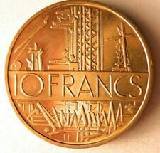 1977 FRANCE 10 FRANCS - PROOF - Very Rare Coin - Lot #O22
