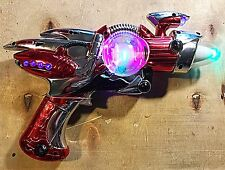 Laser Ray Phaser Toy Space Gun With Lights Sound ! Good Condition