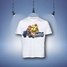 Mario Kart Cartoon Boys Kids T-shirt,Tops & Shirts