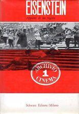 EISENSTEIN APPUNTI DI UN REGISTA 1961 SCHWARZ EDITORE (WA780)
