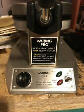 Waring Pro Waffle Maker Wmk300 Professional Belgian Thick Excellent Condition