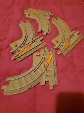 Fisher Price GeoTrax Lot of 4 Parallel Switch Train Track Y Switch Replacement