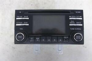 2012 2013 Nissan Rogue 2.5L Radio/CD Player 28185-1VX1A