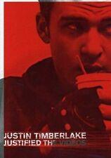 JUSTIN TIMBERLAKE ~ JUSTIFIED - THE VIDEOS ~ DVD ~ **FREE POST