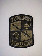 U.S. Army Leadership Excellence Patch