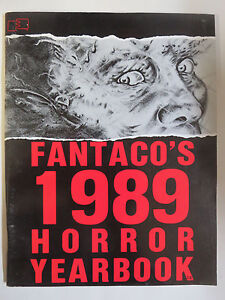 Fantaco 1989 Horror Yearbook Monsters Zombies Movies Vampires From Hell ++
