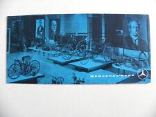 Petite brochure MERCEDES - BENZ musée DAIMLER-BENZ à Stuttgart