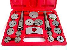 18 Piece Universal Disc Brake Caliper Piston Pad Car Wind Back Tool Set W/ Case