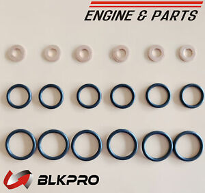 Injector Install Set Kit Seal Copper Ring For Dodge Ram 6.7 Cummins 07-2017 ISB